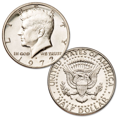 Image for 1972-D Kennedy Half Dollar from Littleton Coin Company