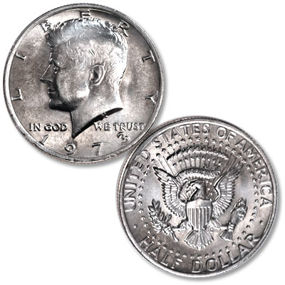 Image for 1973 Kennedy Half Dollar from Littleton Coin Company