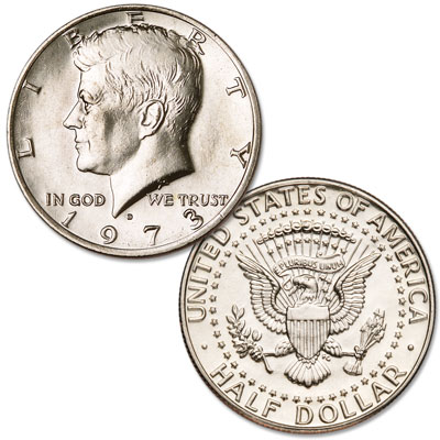 Image for 1973-D Kennedy Half Dollar from Littleton Coin Company