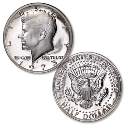Image for 1973-S Kennedy Half Dollar from Littleton Coin Company