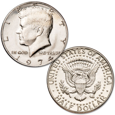 Image for 1974 Kennedy Half Dollar from Littleton Coin Company