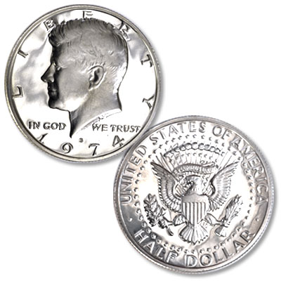 Image for 1974-S Kennedy Half Dollar from Littleton Coin Company