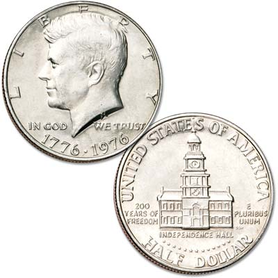 Image for 1976 Kennedy Half Dollar from Littleton Coin Company