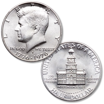Image for 1976-S Kennedy Half Dollar, 40% Silver clad from Littleton Coin Company