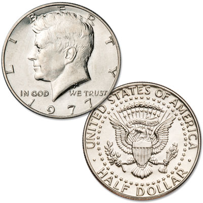 Image for 1977 Kennedy Half Dollar from Littleton Coin Company