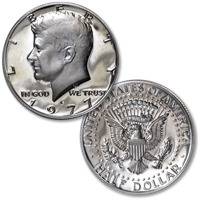Image for 1977-S Kennedy Half Dollar from Littleton Coin Company