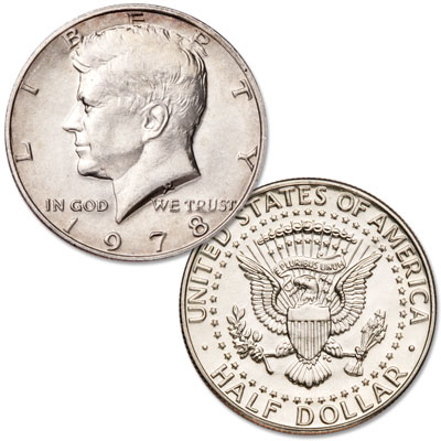 Image for 1978 Kennedy Half Dollar from Littleton Coin Company
