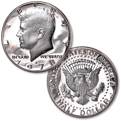 Image for 1978-S Kennedy Half Dollar, Proof from Littleton Coin Company