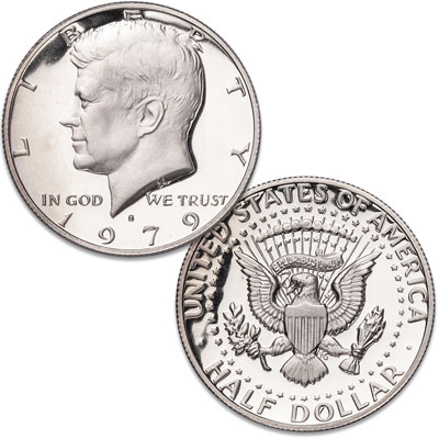 Image for 1979-S Kennedy Half Dollar Filled S from Littleton Coin Company