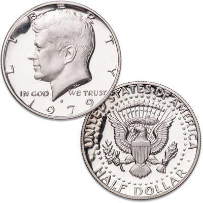 Image for 1979-S Kennedy Half Dollar Clear S from Littleton Coin Company
