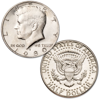 Image for 1980-P Kennedy Half Dollar from Littleton Coin Company
