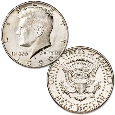 Image for 1980-D Kennedy Half Dollar from Littleton Coin Company