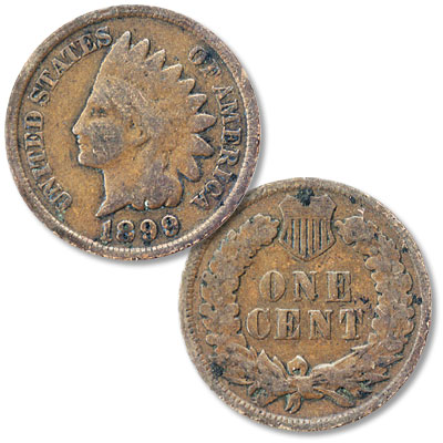 Image for 1899 Indian Head Cent from Littleton Coin Company