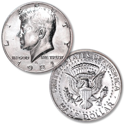 Image for 1981-P Kennedy Half Dollar from Littleton Coin Company