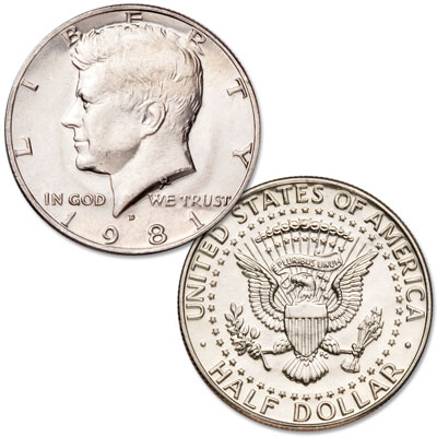 Image for 1981-D Kennedy Half Dollar from Littleton Coin Company