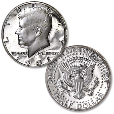 "Image for 1981-S Kennedy Half Dollar, Filled ""S"" from Littleton Coin Company"