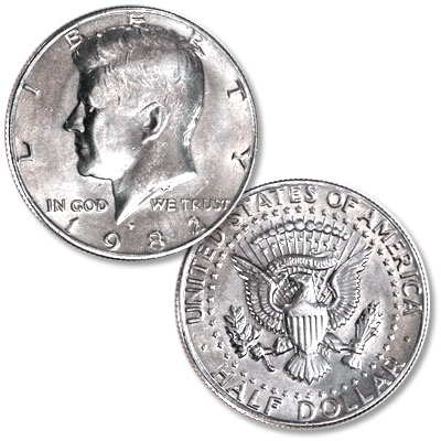 Image for 1982-P Kennedy Half Dollar from Littleton Coin Company