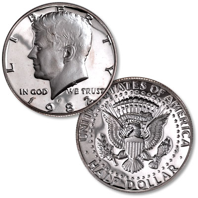 Image for 1982-S Kennedy Half Dollar from Littleton Coin Company