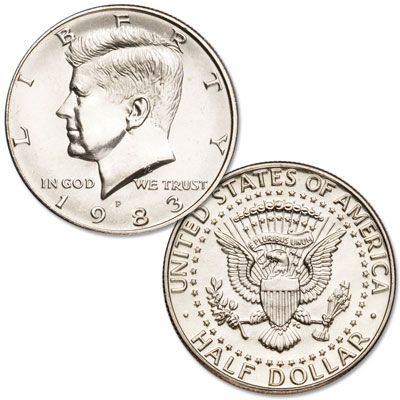 Image for 1983-P Kennedy Half Dollar from Littleton Coin Company