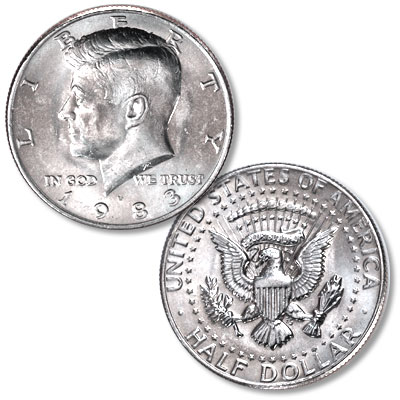 Image for 1983-D Kennedy Half Dollar from Littleton Coin Company