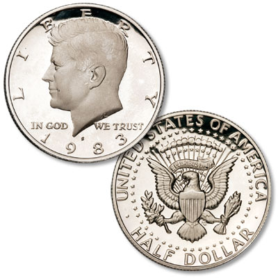 Image for 1983-S Kennedy Half Dollar from Littleton Coin Company