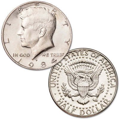 Image for 1984-P Kennedy Half Dollar from Littleton Coin Company