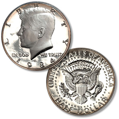 Image for 1984-S Kennedy Half Dollar from Littleton Coin Company