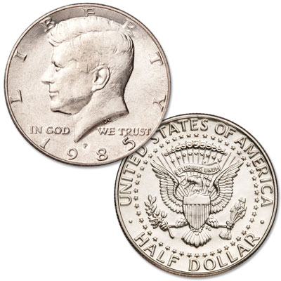 Image for 1985-P Kennedy Half Dollar from Littleton Coin Company