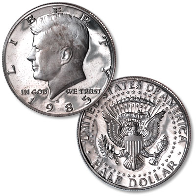 Image for 1985-S Kennedy Half Dollar from Littleton Coin Company