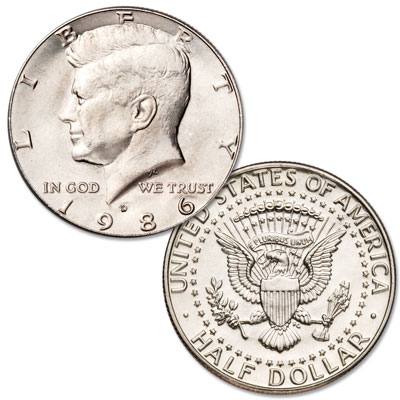 Image for 1986-D Kennedy Half Dollar from Littleton Coin Company