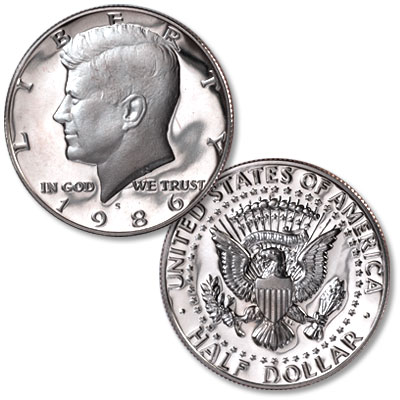 Image for 1986-S Kennedy Half Dollar, Proof from Littleton Coin Company
