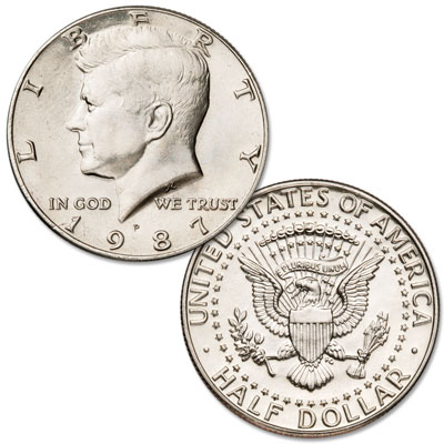 Image for 1987-P Kennedy Half Dollar from Littleton Coin Company