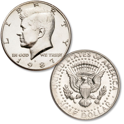Image for 1987-D Kennedy Half Dollar from Littleton Coin Company