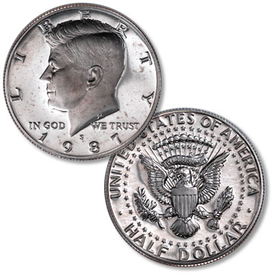 Image for 1987-S Kennedy Half Dollar from Littleton Coin Company