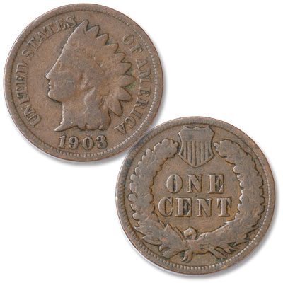 Image for 1903 Indian Head Cent, Variety 3, Bronze from Littleton Coin Company