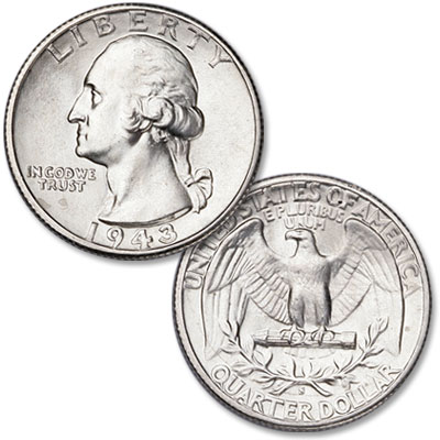 Image for 1943-S Washington Silver Quarter from Littleton Coin Company