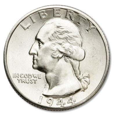 Image for 1944-D Washington Silver Quarter from Littleton Coin Company