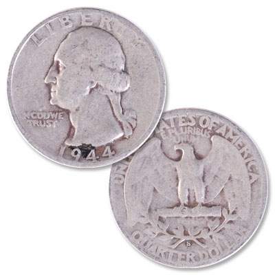 Image for 1944-S Washington Silver Quarter from Littleton Coin Company