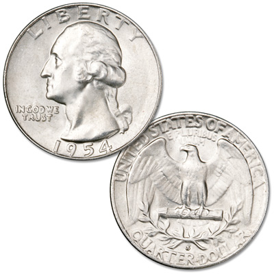 Image for 1954-S Washington Silver Quarter from Littleton Coin Company