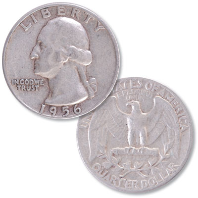 Image for 1956 Washington Silver Quarter from Littleton Coin Company