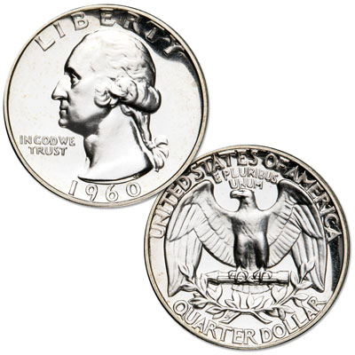 Image for 1960 Washington Silver Quarter from Littleton Coin Company