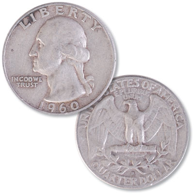 Image for 1960-D Washington Silver Quarter from Littleton Coin Company