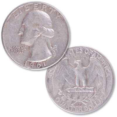 Image for 1961-D Washington Silver Quarter from Littleton Coin Company