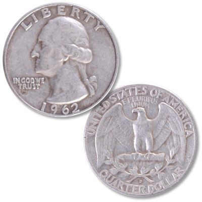 Image for 1962-D Washington Silver Quarter from Littleton Coin Company