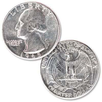 Image for 1965 Washington Quarter from Littleton Coin Company