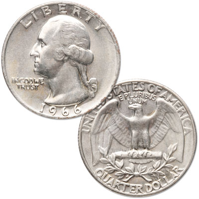 Image for 1966 Washington Quarter from Littleton Coin Company
