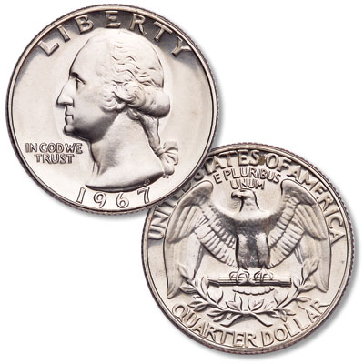 Image for 1967 Washington Quarter from Littleton Coin Company