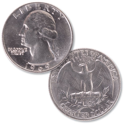 Image for 1969 Washington Quarter from Littleton Coin Company