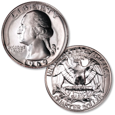 Image for 1969-S Washington Quarter from Littleton Coin Company