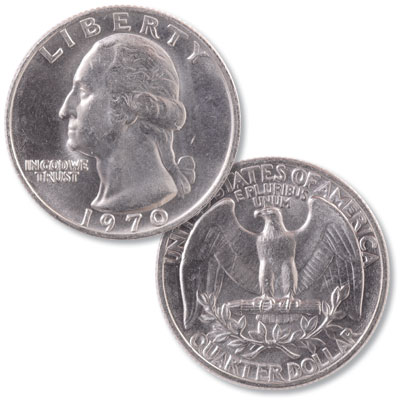 Image for 1970 Washington Quarter from Littleton Coin Company